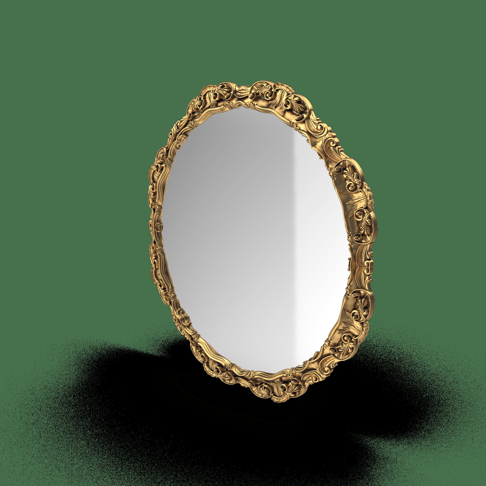Round Mirror Golden.H03.2k-min
